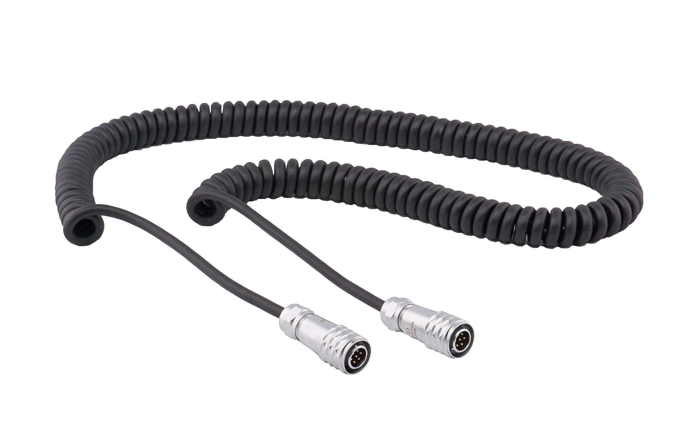 SPIRAL CABLE W/CONNECTOR 7PIN 1,20MT